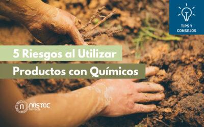 5 Riesgos al Utilizar Productos con Químicos