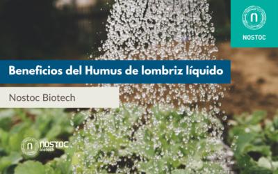 Beneficios del Humus de lombriz líquido de Nostoc Biotech