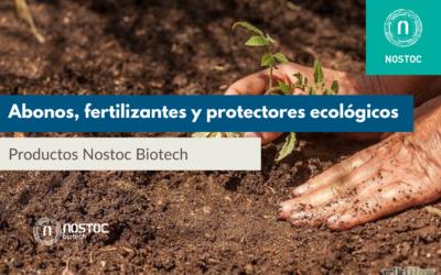 Abonos, fertilizantes y protectores ecológicos Nostoc Biotech